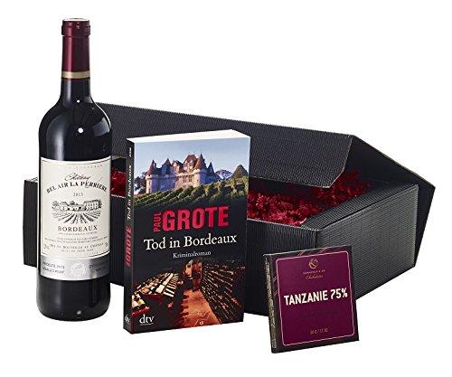 Geschenkset Wein und Buch
