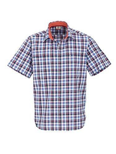 Preisvergleich Produktbild Maul 41317 Herren Outdoor Hemd Karohemd Funktionshemd Kurzarmhemd UV-Schutz Gibraltar