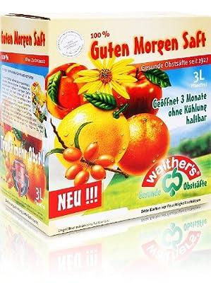 Walthers Guten-Morgen-Saft, 2er Pack (2 x 3 l Saftbox)