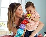 """Lamaze Babyspielzeug mit Musik """"Musik-Wurm"""" mehrfarbig – hochwertiges Kleinkindspielzeug – fördert den Tastsinn und das Hörvermögen Ihres Kindes – ab 0 Monate - 10"""