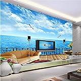 Tapeten Wandbild Wandaufkleberdreidimensionale Tapete Schlafzimmer Wohnzimmer Tv Wandtapete Hintergrund Fernseher Papel De Parede, 200 * 140Cm
