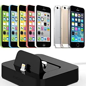 dock chargeur iphone 5 iphone 5s iphone 5c high tech. Black Bedroom Furniture Sets. Home Design Ideas