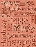 Cricut Cuttlebug A2 Happy Birthday Emboss Folder