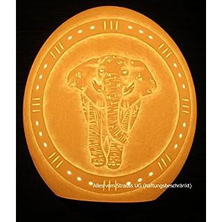 Alles vom Strauß UG Straußenei-Lampenschirm Elefant Modern