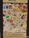 Prophila Collection Niederlande 500 Gramm Kiloware mit mindestens 10% Sondermarken (Briefmarken für Sammler)