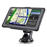 LHNa Bluetooth Navegador GPS Navegación con Pantalla táctil de 7' planifica rutas Inteligentes Avisador de Radar Reproductor Multimedia Alertas en Tiempo Real Asistente a la Conducción