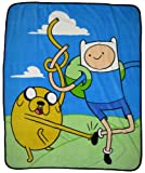 Adventure Time Finn and Jake Micro Rachel Fleece Throw Blanket best price on Amazon @ Rs. 2887