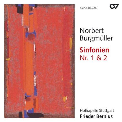 Preisvergleich Produktbild Norbert Burgmüller: Sinfonien Nr. 1 & 2