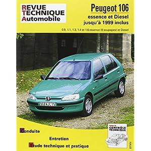 Revue Technique Automobile Peugeot 106 essence et diesel