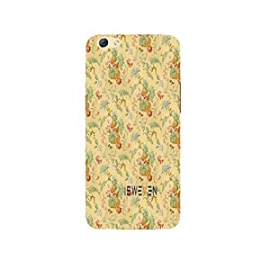 iSweven Fruity design printed matte finish multi-colored back case cover for Oppo R9s Plus