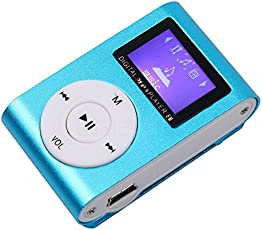 Tronomy Mini Digital MP3 Player with Display and Earphones HD LED Torch for Android/iOS Devices
