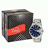 #10: ZIERA Analogue Blue Dial Men's Watch - Zr7040