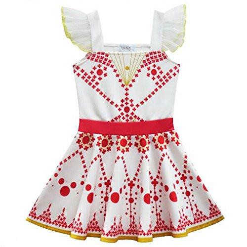 Ballett-Kleid, weiß (Aurora Ballerina Kind Kostüme)