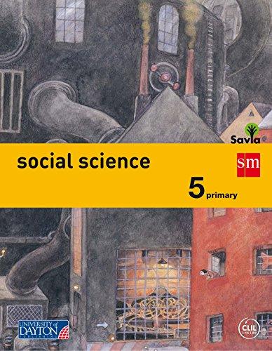 Social science. 5 Primary. Savia - 9788415743958