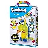 BunchBot Crea Bunchems DRAGON -DRAGONS GLOW'N THE DARK - BRILLANO AL BUIO Piccole sfere che si agganciano tra loro con cui dar vita a qualsiasi cosa Gioco creativo per bambini dai 6 anni