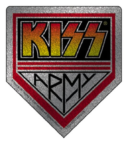 KISS Army Glitter, Officially Licensed Original Artwork, High Quality, 3.5