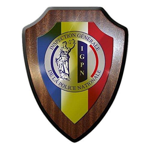 Armoiries Panneau igpn inspection Generale de la police Nationale Générale d'inspection Police Nationale France Paris armoiries # 21823