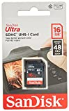 2 PACK - SanDisk Ultra 16GB SD SDHC Memory Flash Card UHS-I Class 10 Read Speed up to 48MB s 320X SDSDUNB-016G-GN3IN Wholesale Lot 2 Cases at amazon