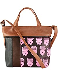 Pulpypapaya Printed Multi Color Women's Handbag