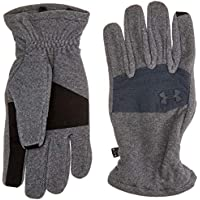 Under Armour Survivor Fleece 2.0 Guantes, Hombre, Stealth Grey, Large