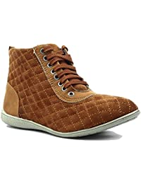 Shuberry Latest Footwear Collection, Comfortable & Fashionable High Top Shoes with Exclusive Stitch Design For Women's & Girl's