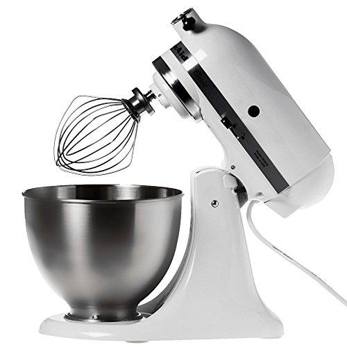 KitchenAid 5K45SSEWH Küchenmaschine