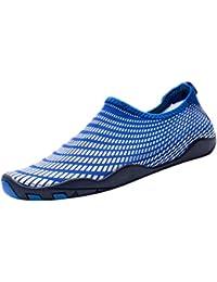 fbec84f9c741e9 Homyl Paire Chaussures Plage Sports Chaussures Aquatiques Plongée Anti -Dérapant