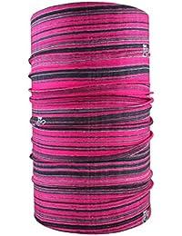 HeadLOOP multifunción Toalla Stripes Bufanda pañuelo Manguera, Color Rosa - Rosa, ...