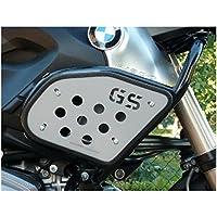 motorbikecomponents, Kit placas de protecciones laterales para depósito con logo GS–BMW R 1200GS/Adventure 2010