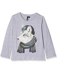 CMP Joven Manga Larga Camiseta de, niño, Langarmshirt, Grigio M, 116