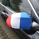 Drapeau Miroir/Miroir Drapeau France 1Paire, auto/voiture Rétroviseur miroir/voiture FahnenMax Drapeau/Housse