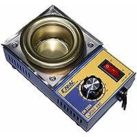Crisol pozzetto para soldar estaño diámetro 50mm 0,5kg 150W