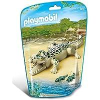 Playmobil - Caimán con bebés (66440)