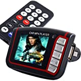 "1.8"" MP3 MP4 Reproductor FM Mechero 8GB SD para Coche"