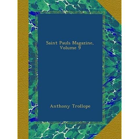 Saint Pauls Magazine, Volume 9