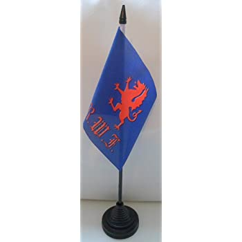 Parachute Regiment Paras 3 Flag Desktop Table Centrepiece Flag Flags With Gold Base Ideal For Party Conferences Office Display