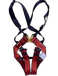 mhgao niños de escalada arnés/Cuerpo cinturones/caída protección, s (3-10 years old)