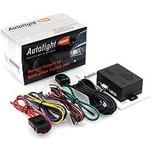 Sistema del sensor de la luz auto del coche, Sistema de faros de coche,