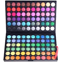 Anself 120 colores Paleta de sombra de ojos cosmética de alta calidad