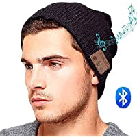 ULTRICS Wireless Bluetooth Music Beanie Hat with Stereo Speaker Headphone