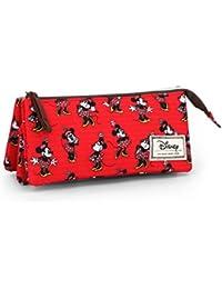 Karactermania Disney Classic Minnie Cheerful Estuches, 24 cm,  Rojo