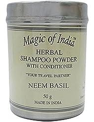 Magic of India Fragrance Sampoo Herbal Poudre avec revitalisant - Select Fragrance