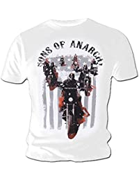 Sons of Anarchy Official T Shirt Motorbikes Ride Out All Sizes