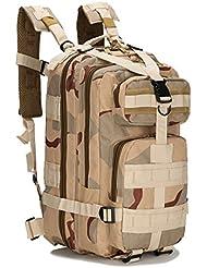 OUTERDO Militärischer Outdoor Taktischer Rucksack Camping Wandern Trekking Rucksack