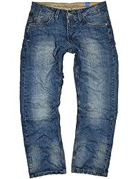 Timezone Herren Jeans Coast blau (midwest wash 3627)
