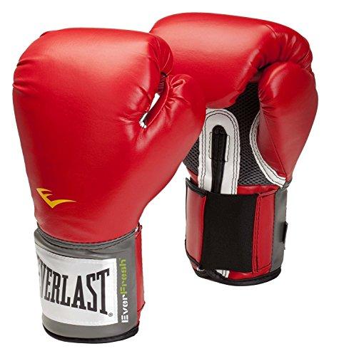 Everlast adultos Caja Artículo 2100Velcro Pro Style Entrenamiento Gloves, hombre, color rojo, tamaño 227 g