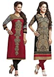 Jevi Prints Women's Cotton Kurti Dress M...