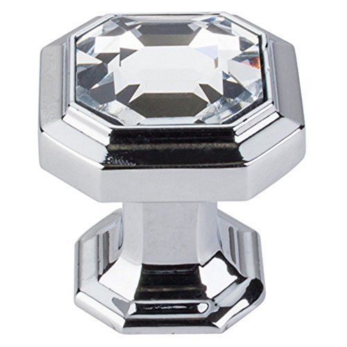 Top Knobs Chareau 1.13 in. Crystal Emerald Cabinet Knob by Top Knobs -