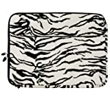 VanGoddy Exotic Zebra Laptop Sleeve for Acer TravelMate / Aspire / Spin / ChromeBook / 15.6in Laptops