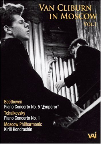 Van Cliburn in Moscow Vol 1  Beethoven, Tchaikovsky